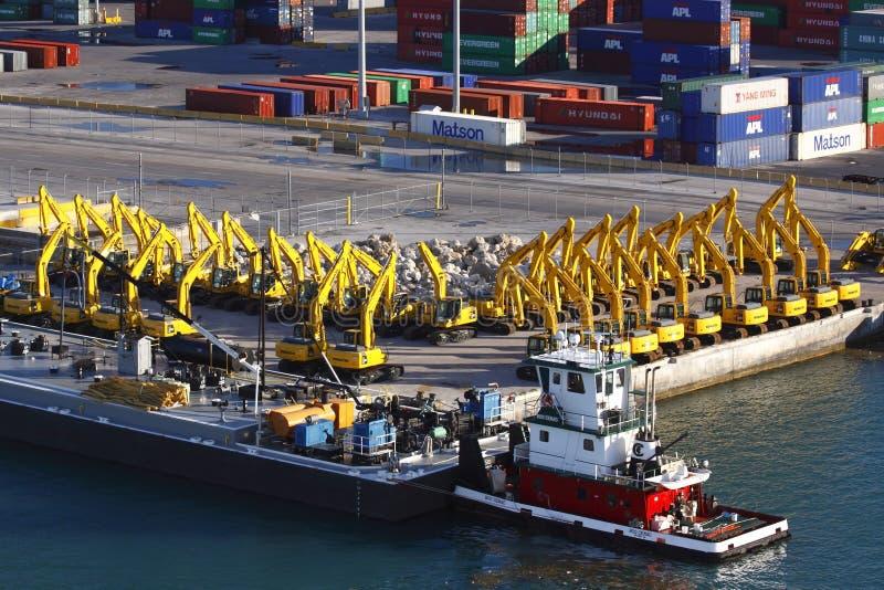 Port Of Miami Editorial Photo