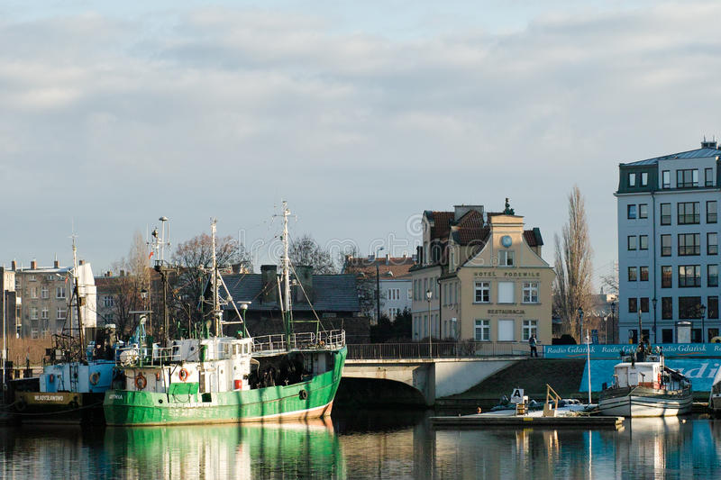 Download Port in middle centre. editorial stock photo. Image of poland - 28654443