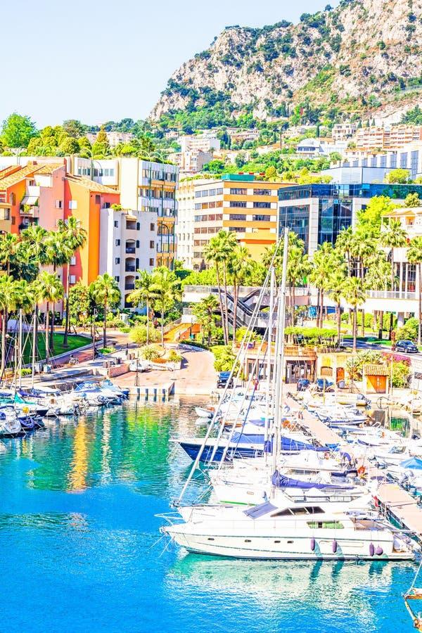 Port in Monaco royalty free stock photography