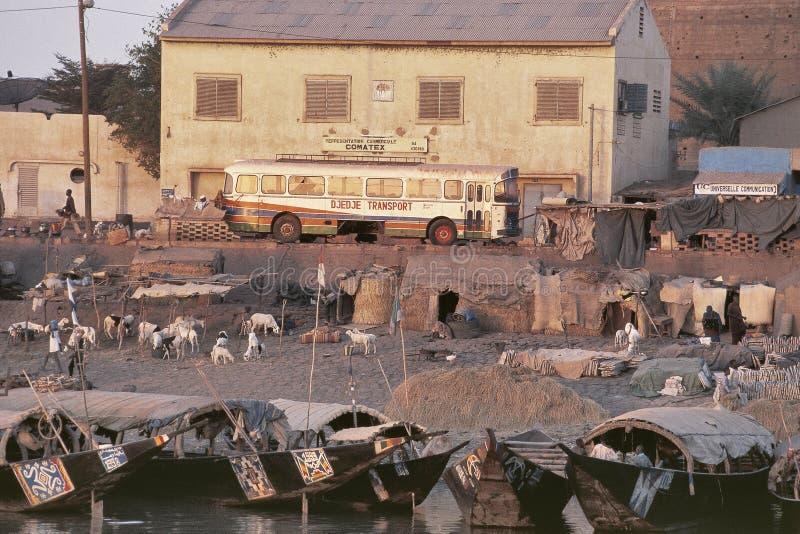 The Port Of Mopti, Mali Editorial Stock Image