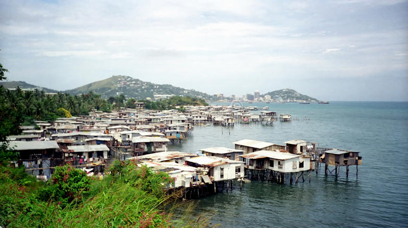 Port Moresby, Papouasie-Nouvelle-Guinée image stock