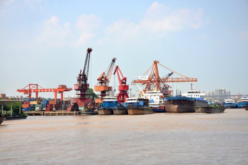 Download Port Of Nanjing, China Editorial Photo - Image: 26828601