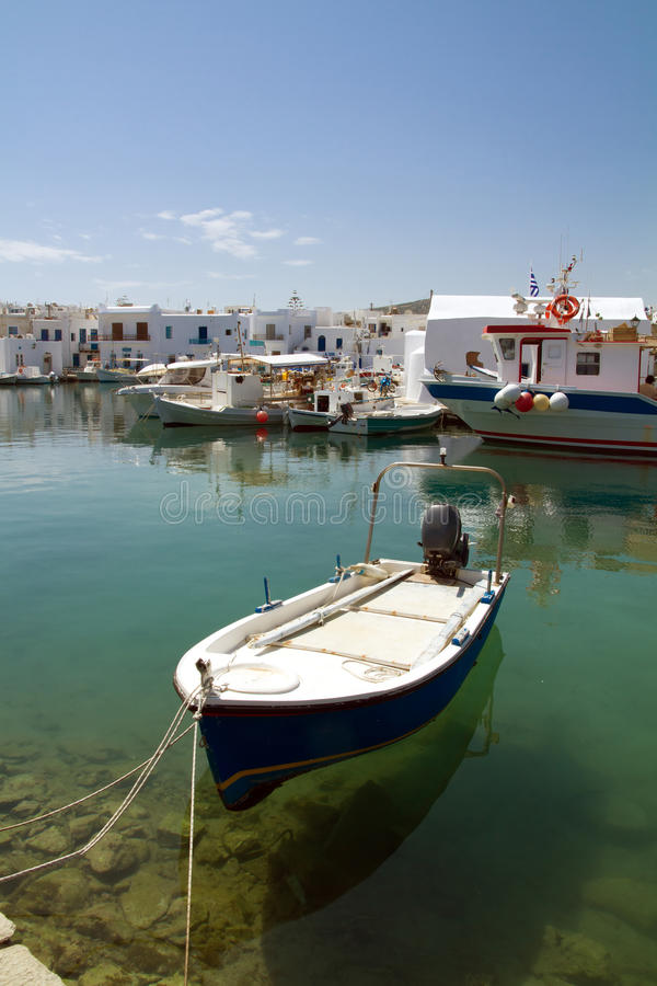 Download Port Of Naoussa,  Paros Island , Greece Stock Photo - Image: 28647510