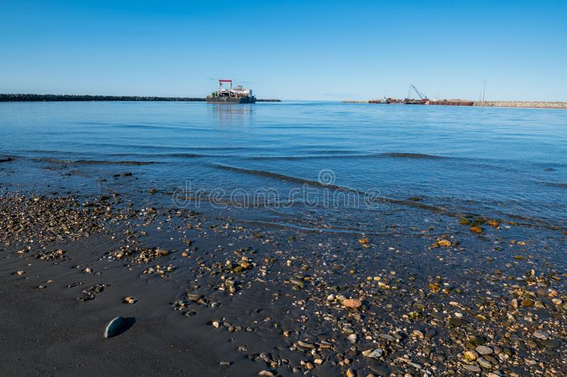Port of Nome stock image