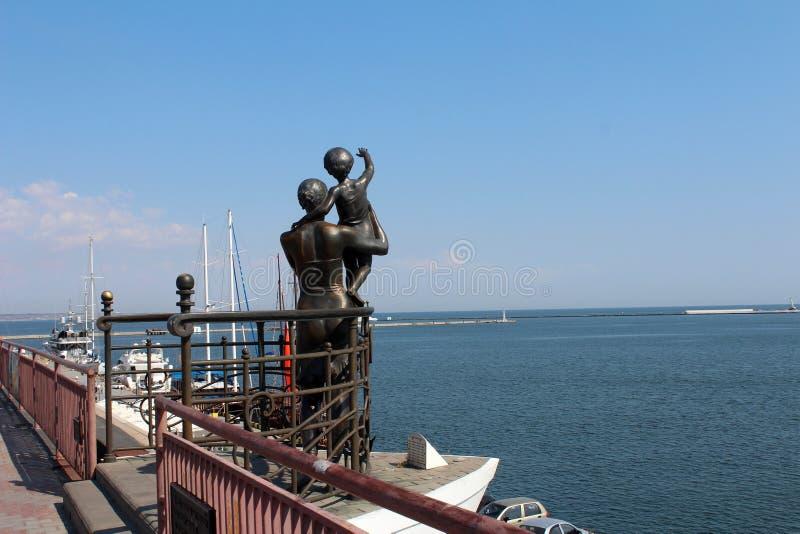 Port Odessa, Ukraina zdjęcia stock
