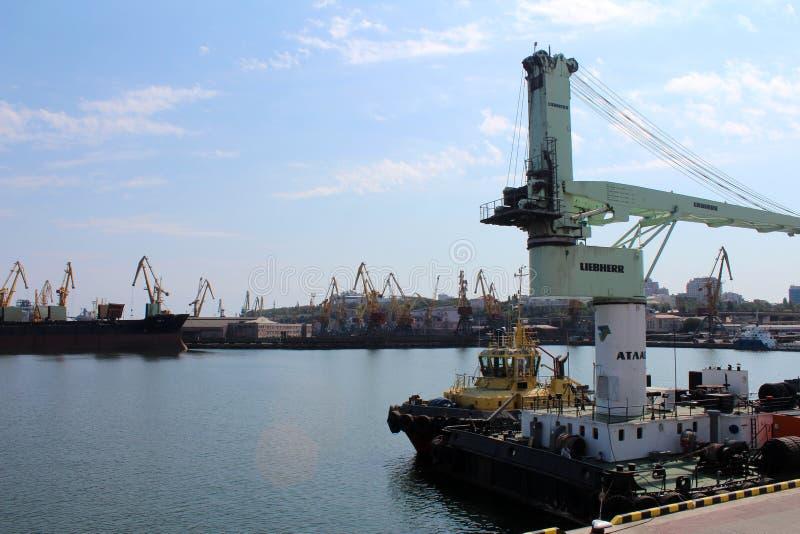 Port Odessa, Ukraina fotografia stock