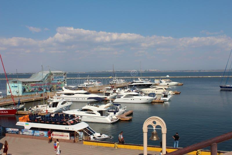 Port Odessa, Ukraina zdjęcie royalty free