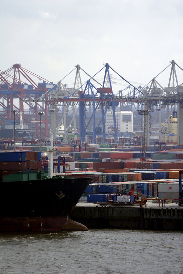 Free Port Of Hamburg Royalty Free Stock Images - 697709