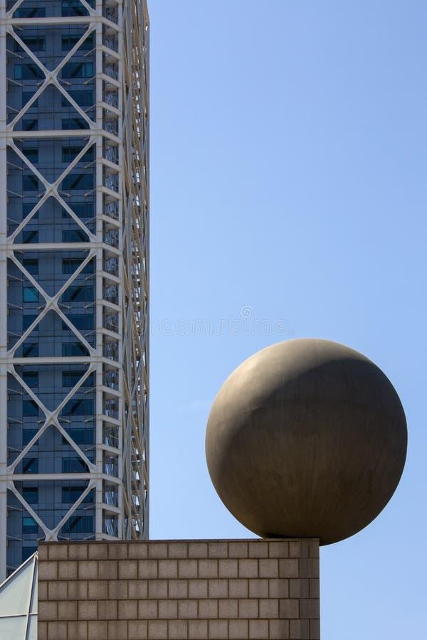 Port Olimpic - Barcelona - Spain royalty free stock photography