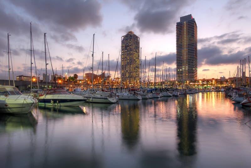 Port Olimpic, Barcelona, Spanien