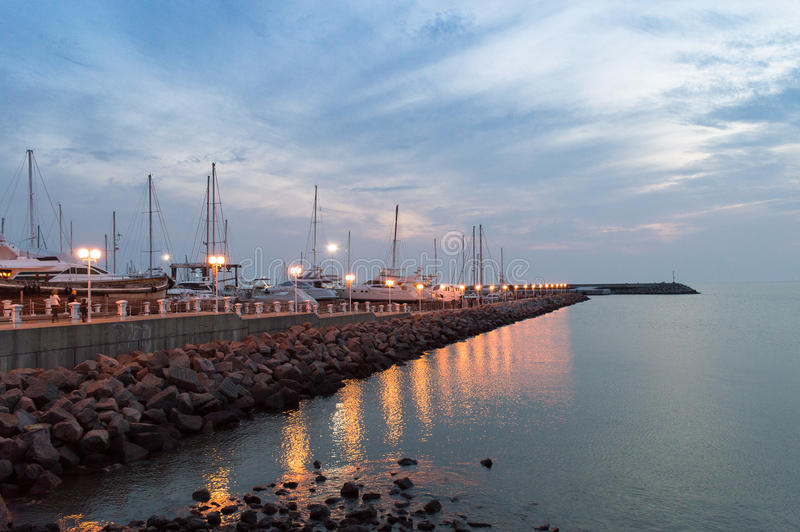 Port of Piriápolis stock photos