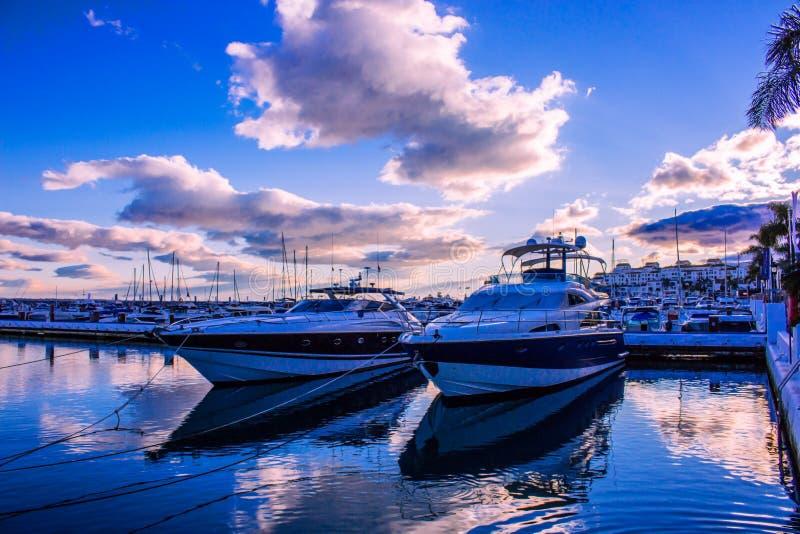 Port Puerto Banus fotografia royalty free