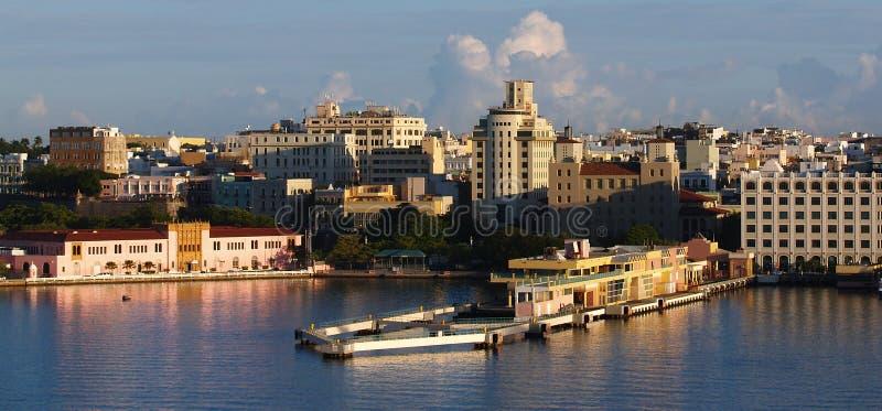 port Puerto Rico arkivfoton