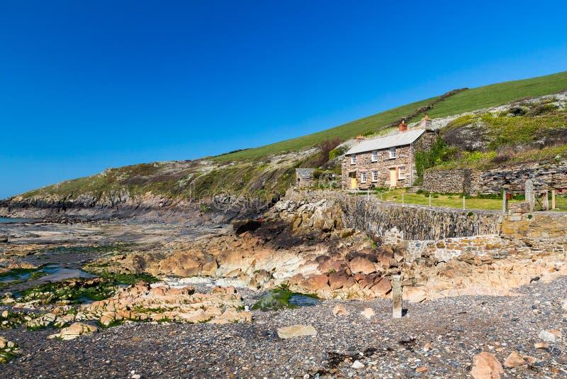Port Quin Cornwall England photos libres de droits