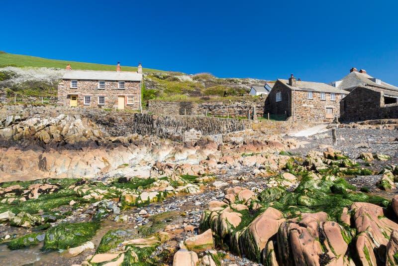 Port Quin Cornwall England image stock