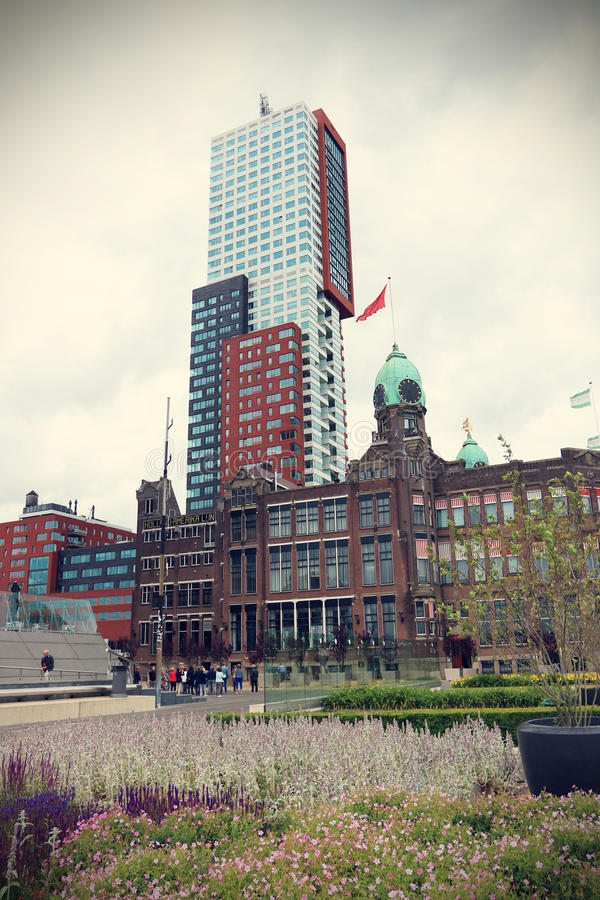 Port of Rotterdam royalty free stock photo