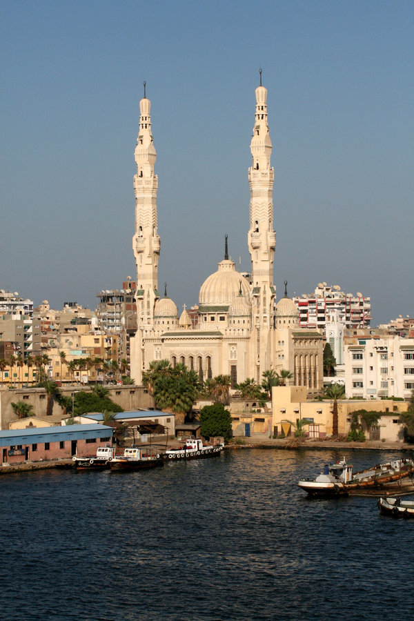 Free Port Said Royalty Free Stock Photography - 8178127