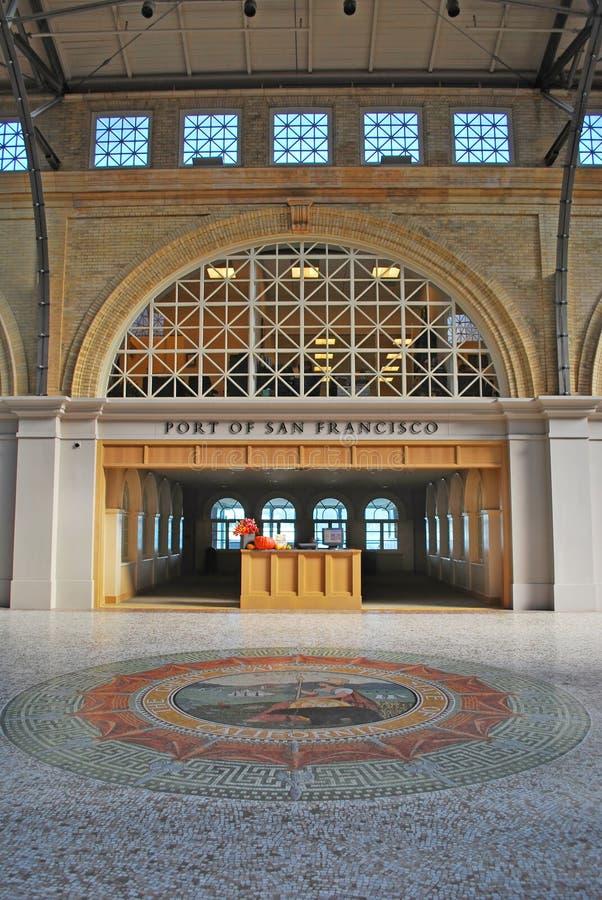 Port San Fransisco obraz stock