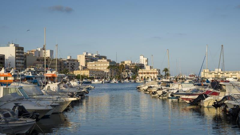 Port Santa Pole, Alicante, Hiszpania fotografia stock