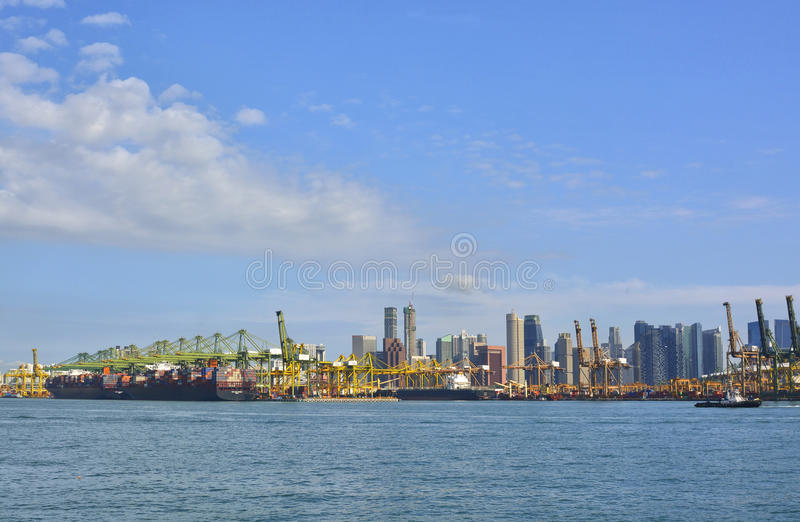 Download Port Of Singapore Royalty Free Stock Images - Image: 38771009
