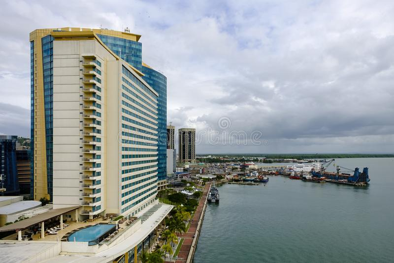 Port of spain - trinidad and Tobago royalty free stock photography