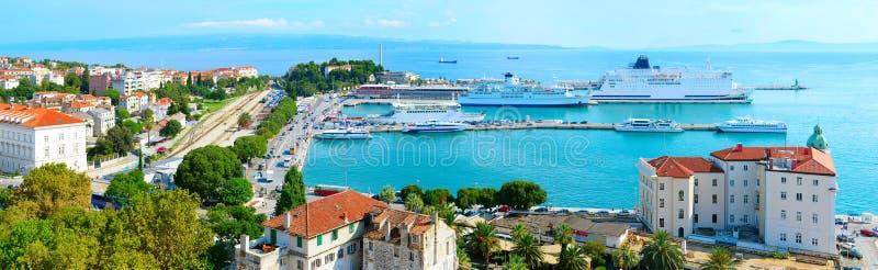 Port of Split royalty free stock image