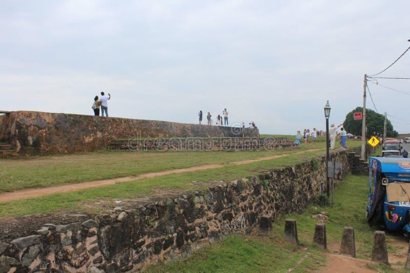 Port sri-lankais de galla de pousse de Fre photo stock