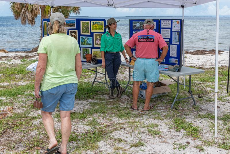 Forgotten Coast Sea Turtle Festival royalty free stock images