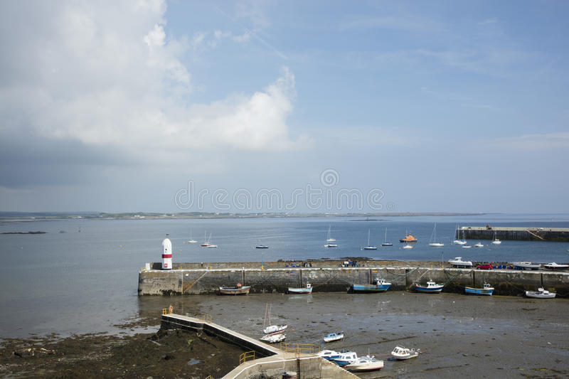 Port St Mary`s Isle of Man. The harbor at Port St Mary`s Isle of Man British Isles stock photos