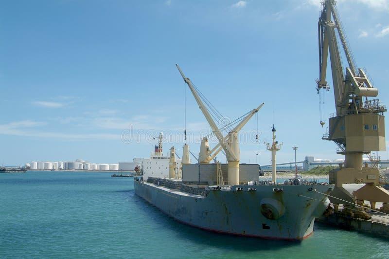 port statku zdjęcie stock