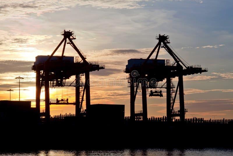 Port Sunrise stock images