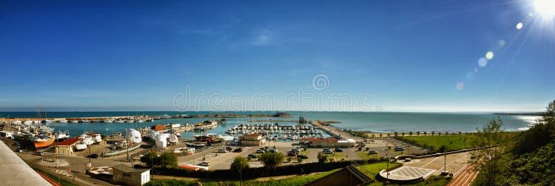 Port of Termoli, Molise, Italy stock images