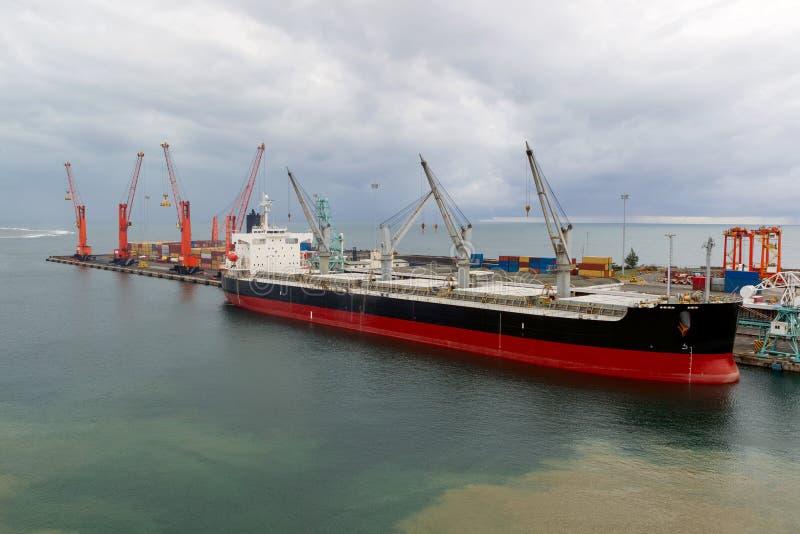 Port Toamasina, Madagascar (Tamatave) fotografia stock
