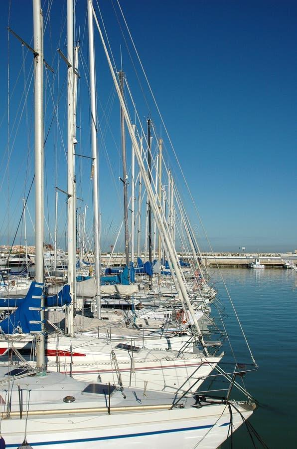 Port touristique - Italie photo libre de droits