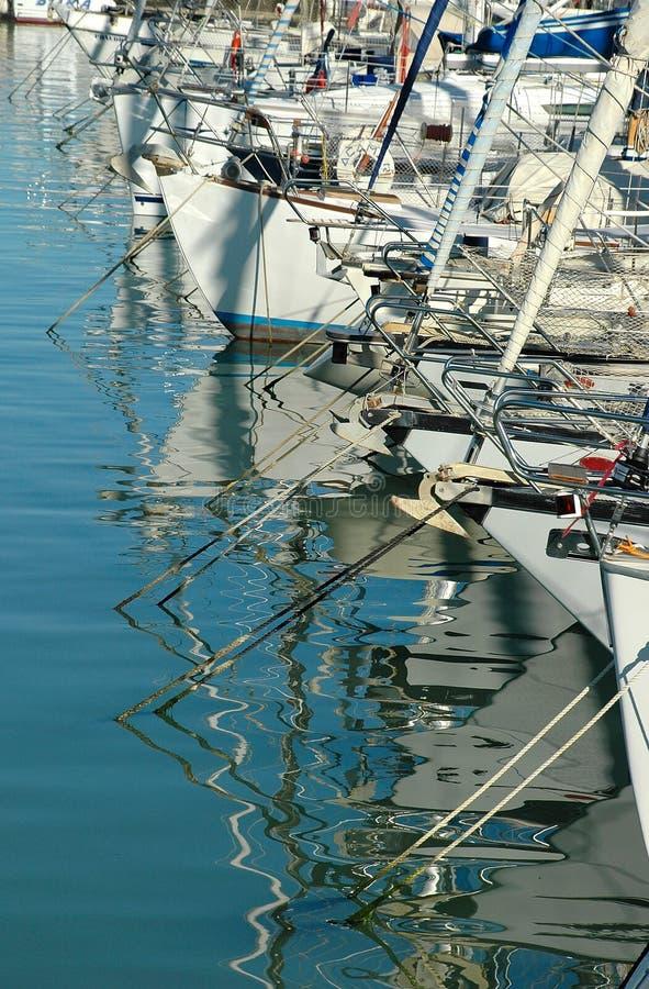 Port touristique - Italie photo stock