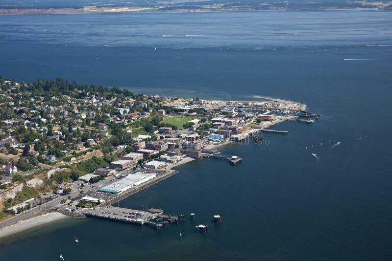 Port Townsend Olympic Peninsula royaltyfri fotografi