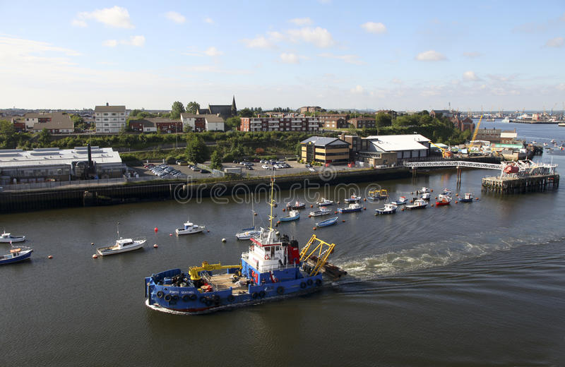 Port of Tyne royalty free stock images