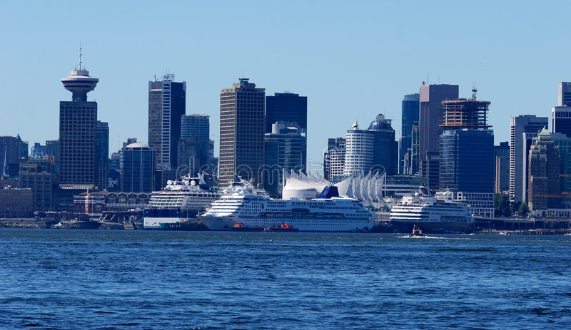 port Vancouver fotografia royalty free
