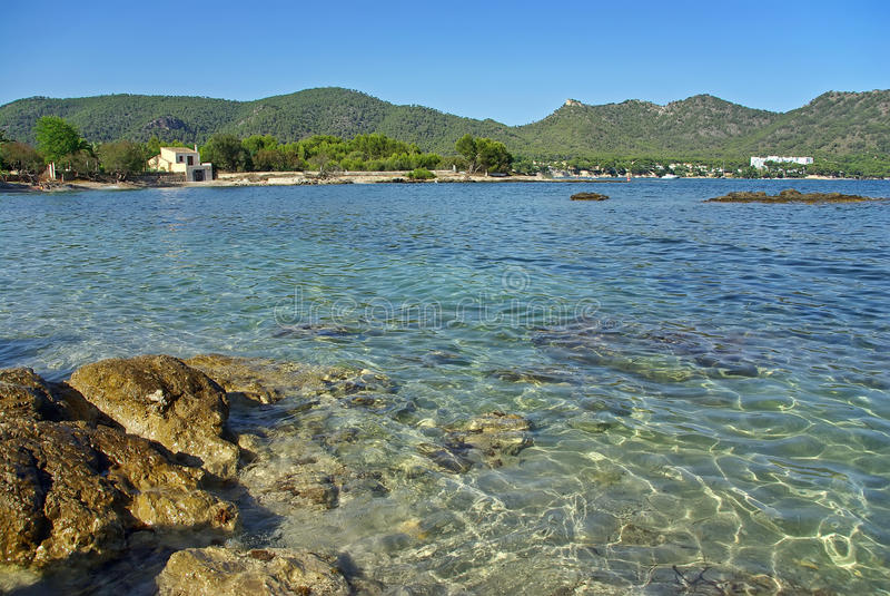 Port Vell (Majorca Coast) stock images
