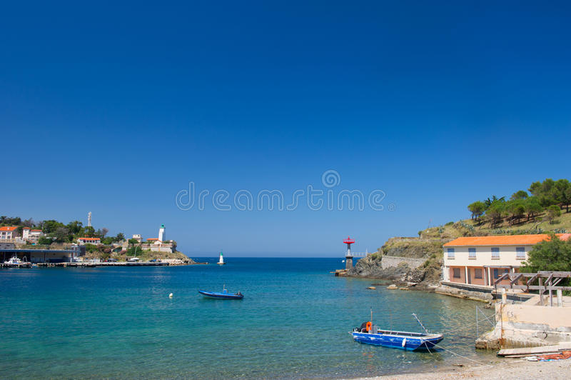 Download Port Vendres stock photo. Image of vendres, houses, boats - 32873722