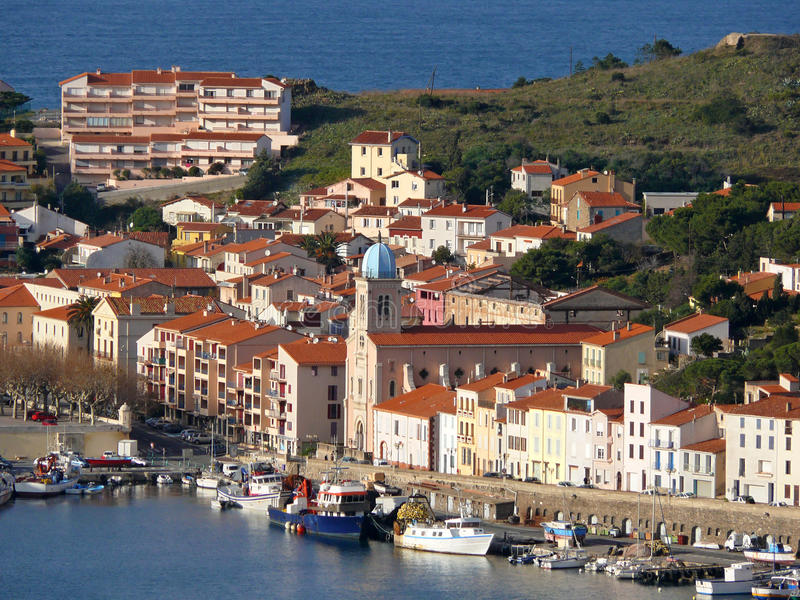 Download Port-Vendres In The Vermilion Coast Stock Image - Image: 21024425