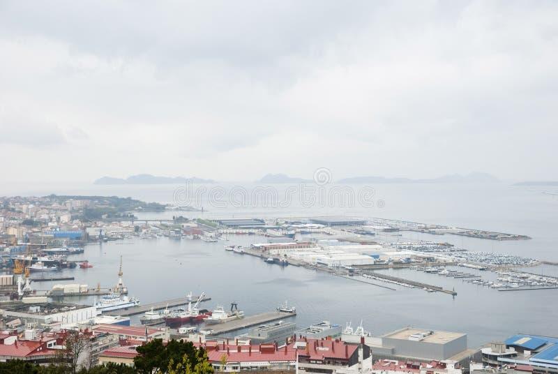 Download Port of Vigo, Galicia stock image. Image of maritime - 33056681