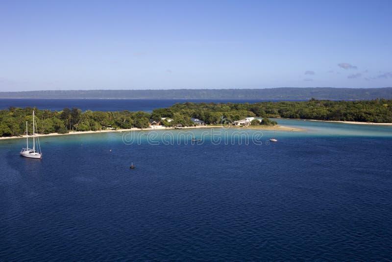Port Vila royaltyfri fotografi