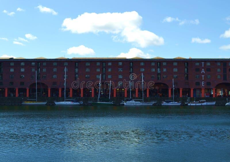 Port w Anglia obraz royalty free