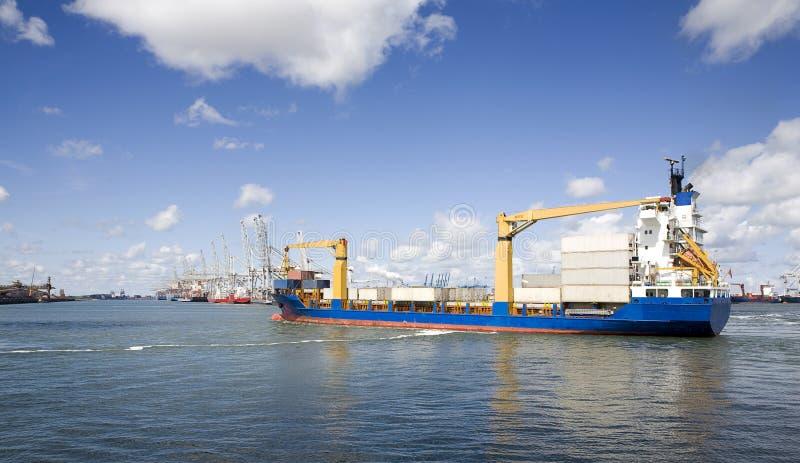 port w rotterdamie obraz stock