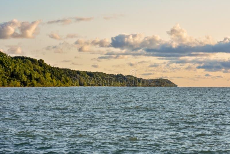 Port Washington Shoreline zdjęcia stock