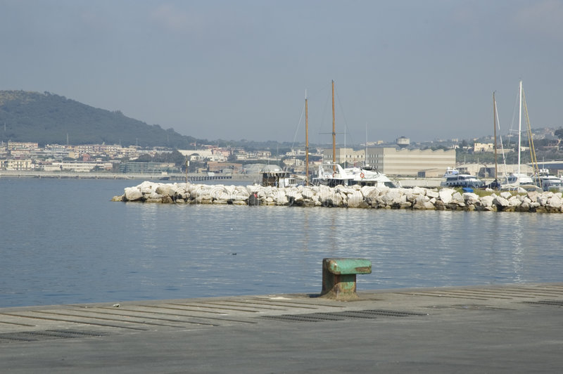 port widok fotografia stock