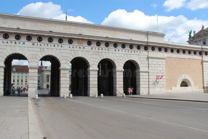 Port - Wien - Österrike arkivfoto