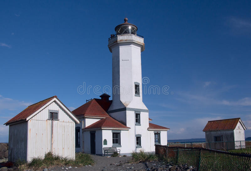 Port Wilson Lighthouse photographie stock