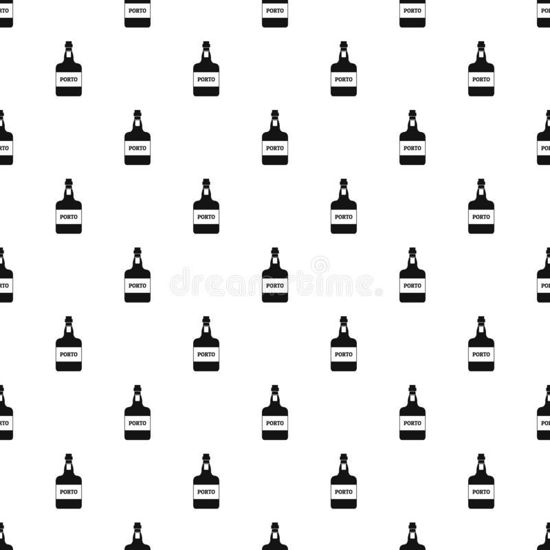 Port wine pattern vector seamless. Repeating for any web design vector illustration